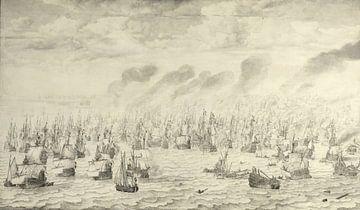 De slag bij Terheiden, Willem van de Velde (I)