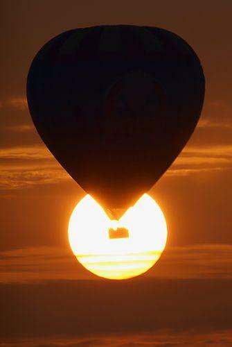 Ballon au soleil sur