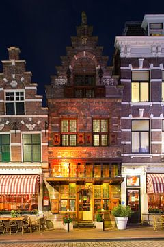 Ancien pion médiéval Dordrecht sur Anton de Zeeuw