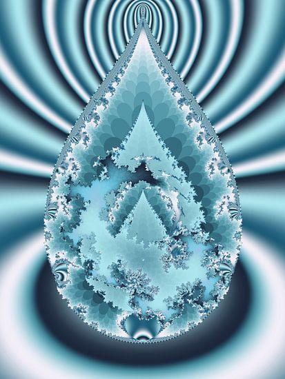Waterdruppel van Bernardine de Laat