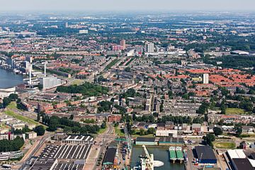Luchtfoto Charlois te Rotterdam
