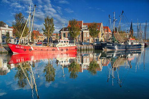 Harlingen Zuiderhaven 1 van Nils Bakker