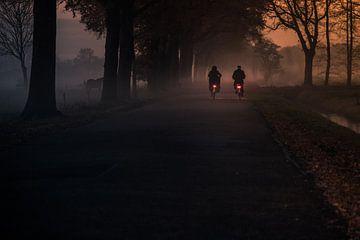 samen op de fiets van Jan van den Heuij