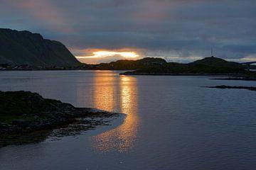Nachts auf Moskenesøya von Gisela Scheffbuch