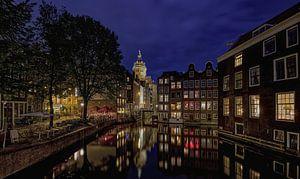 Amsterdam by Night van Robert Jan Smit