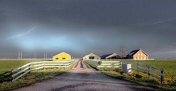 Niederländische Landschaft von Norbert Vaessen