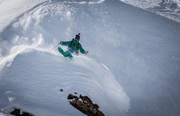 Freeride ski von Martijn Hinrichs