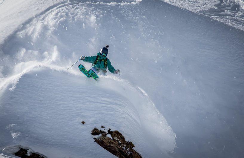 Freeride ski sur Martijn Hinrichs