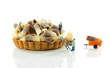 making pastry van