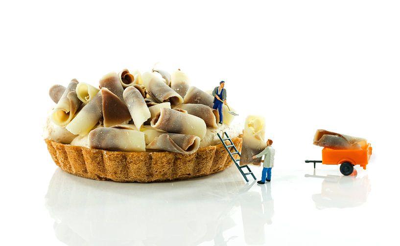 making pastry van Compuinfoto .