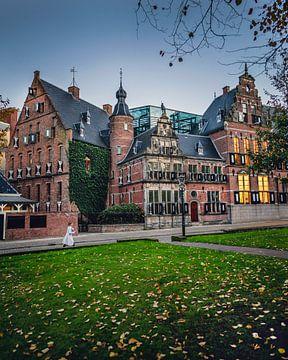 Provinciehuis Groningen aan het Martinikerkhof van Harmen van der Vaart