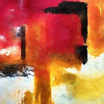 Abstrakte Komposition 1074 von Angel Estevez
