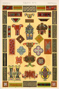 Owen Jones' berühmtes Werk Die Grammatik des Ornaments aus dem 19. Jahrhundert.