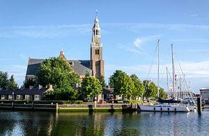 Schanseiland met de Groote Kerk Maassluis