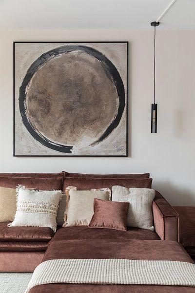 Klantfoto: Cirkel (gezien bij vtwonen) van Pieter Hogenbirk