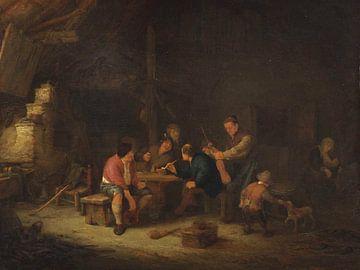 Interieur mit Bauern, Adriaen van Ostade