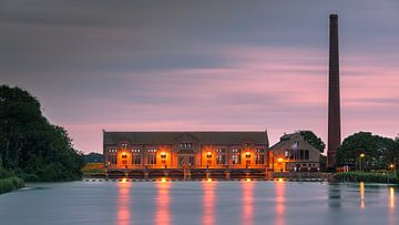 ir D.F. Woudagemaal. Lemmer, Friesland, Netherlands