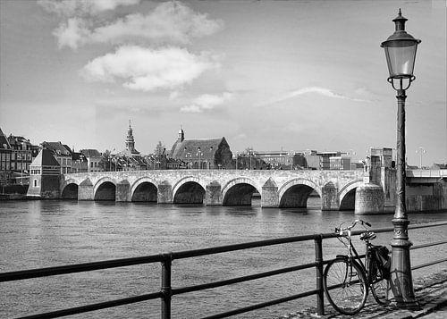 Sint Servaasbrug in Maastricht, Nederland van