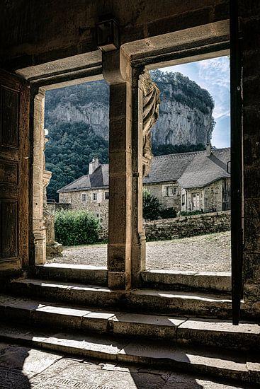 Doorkijk abdij