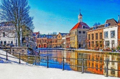 Winterbeeld Schiedam
