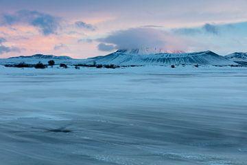 Sneeuw meer van Frits Hendriks