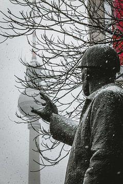 Berlin im Schnee von Robin Berndt