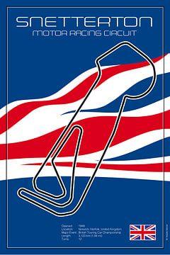 Racetrack Snetterton van Theodor Decker