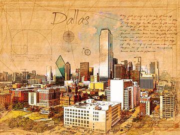 Dallas von Printed Artings