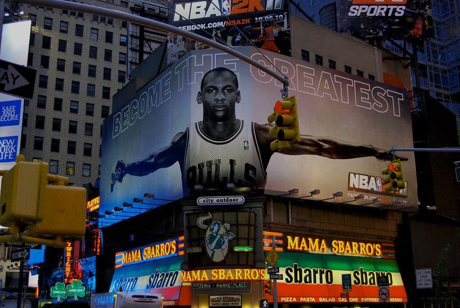 Times Square Michael Jordan