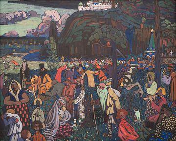 Kleurrijk leven, Wassily Kandinsky