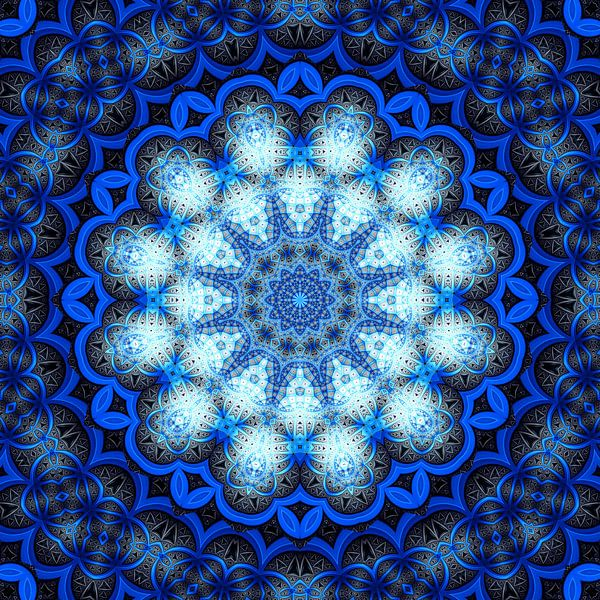 Mandala 01 van Marion Tenbergen