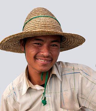 Myanmar: Intha visser (Intha) van Maarten Verhees
