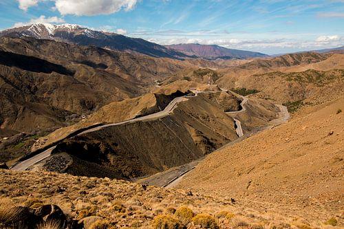 De weg door het Atlasgebergte