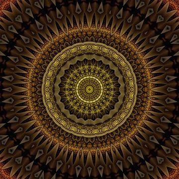 Mandala Aufrichtigkeit von Marion Tenbergen