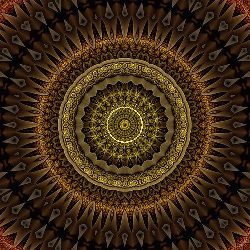 Mandala oprechtheid van Marion Tenbergen