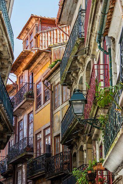 Porto, die Altstadt von Annette van Dijk-Leek