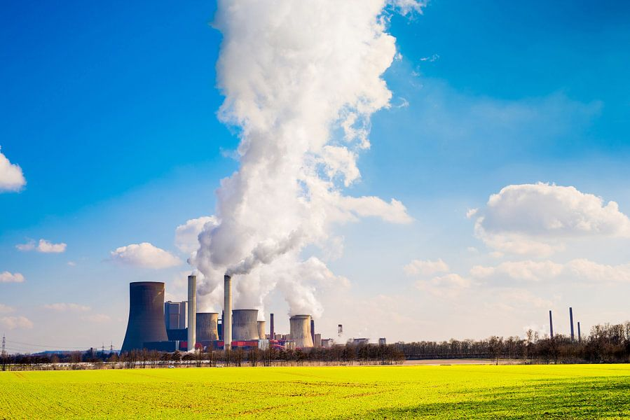 Power plant van Günter Albers