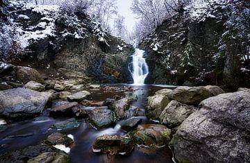 waterval van bayehon in de belgische Ardennen van Bart cocquart