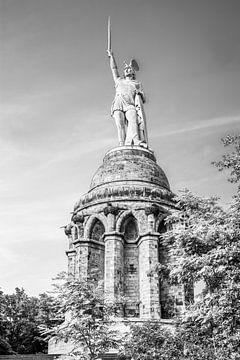 Le monument Hermann près de Detmold sur Günter Albers