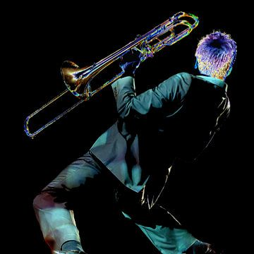 Trombone von Brian Morgan