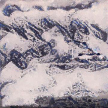 Abstrakte Inspiration LXXX von Maurice Dawson