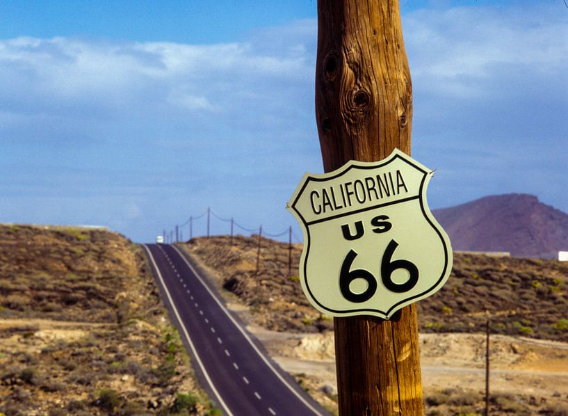 Route 66, USA van Ruurd Dankloff