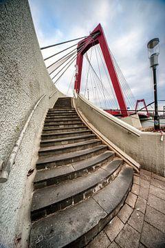 Willemsbrug Rotterdam sur Pieter van Roijen