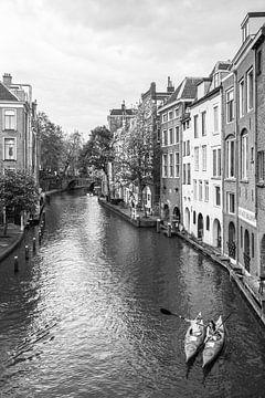Kano in gracht Utrecht - Gaardbrug van Ramona Stravers