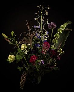 Modern Stilleven: Boeket bloemen van Marjolein van Middelkoop