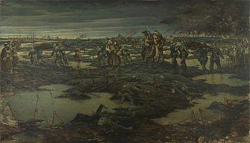 De oogst van de oorlog, 1919 van Atelier Liesjes