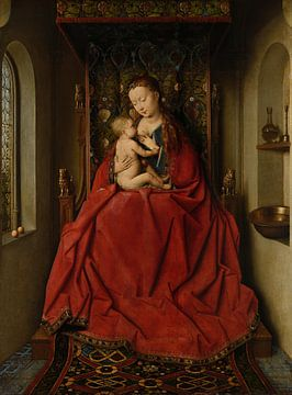 Lucca Madonna, Jan van Eyck sur