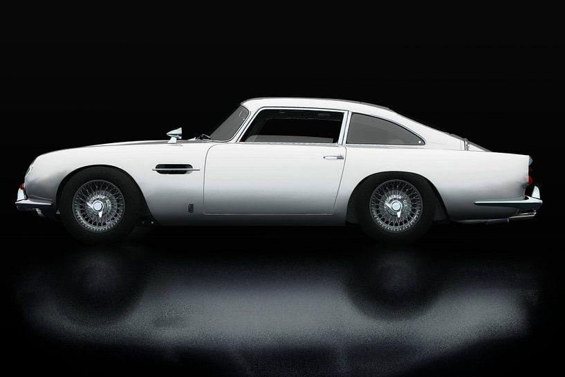 Aston Martin DB5 Seitenansicht von Jan Keteleer