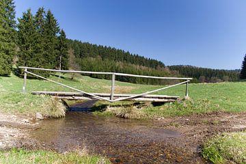 Landschap Brotterode Duitsland van Hans Oudshoorn