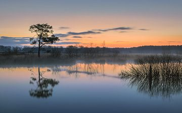 Sonnenaufgang in Drenthe